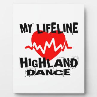 MY LIFE LINA HIGHLAND DANCING DANCE DESIGNS PLAQUE