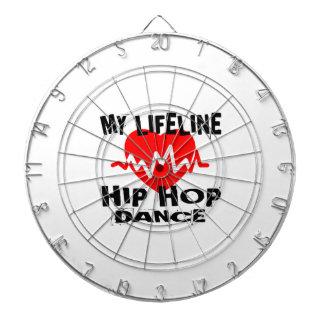 MY LIFE LINA HIP HOP DANCE DESIGNS DARTBOARD