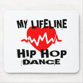 MY LIFE LINA HIP HOP DANCE DESIGNS MOUSE PAD