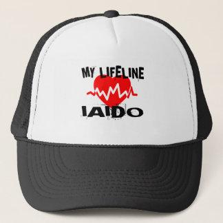 MY LIFE LINA IAIDO MARTIAL ARTS DESIGNS TRUCKER HAT