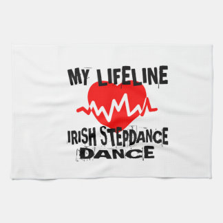 MY LIFE LINA IRISH STEP DANCE DESIGNS KITCHEN TOWEL