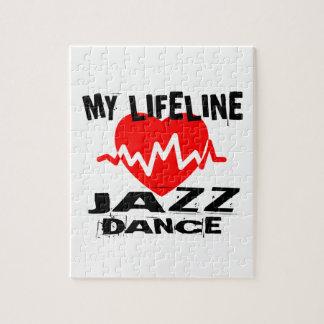MY LIFE LINA JAZZ DANCE DESIGNS JIGSAW PUZZLE