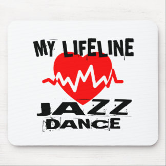 MY LIFE LINA JAZZ DANCE DESIGNS MOUSE PAD