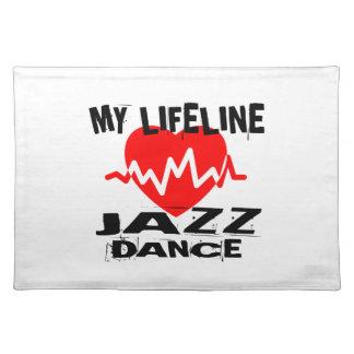 MY LIFE LINA JAZZ DANCE DESIGNS PLACEMAT