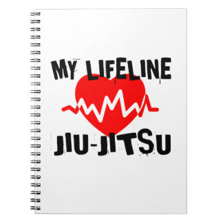 MY LIFE LINA JIU-JITSU MARTIAL ARTS DESIGNS NOTEBOOKS