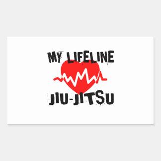 MY LIFE LINA JIU-JITSU MARTIAL ARTS DESIGNS STICKER