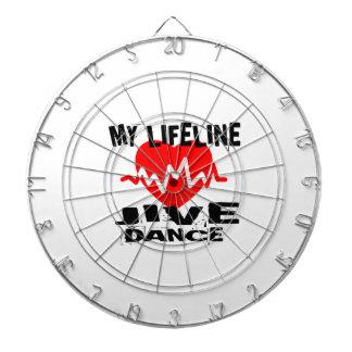 MY LIFE LINA JIVE DANCE DESIGNS DARTBOARD