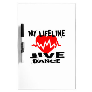 MY LIFE LINA JIVE DANCE DESIGNS DRY ERASE BOARD