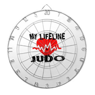 MY LIFE LINA JUDO MARTIAL ARTS DESIGNS DARTBOARD
