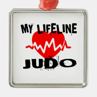 MY LIFE LINA JUDO MARTIAL ARTS DESIGNS METAL ORNAMENT