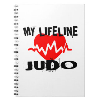 MY LIFE LINA JUDO MARTIAL ARTS DESIGNS NOTEBOOKS