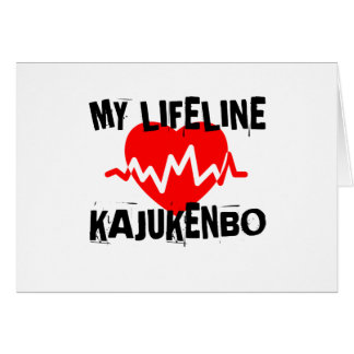 MY LIFE LINA KAJUKENBO MARTIAL ARTS DESIGNS CARD