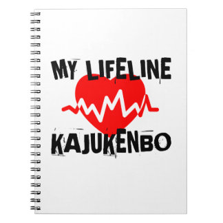 MY LIFE LINA KAJUKENBO MARTIAL ARTS DESIGNS SPIRAL NOTEBOOK