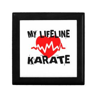 MY LIFE LINA KARATE MARTIAL ARTS DESIGNS GIFT BOX