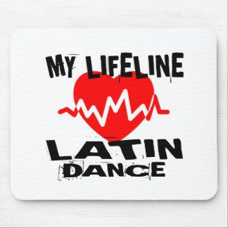 MY LIFE LINA LATIN DANCE DESIGNS MOUSE PAD