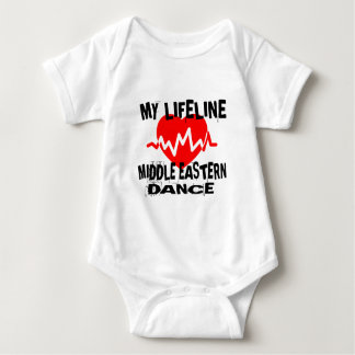MY LIFE LINA MIDDLE EASTERN DESIGNS BABY BODYSUIT