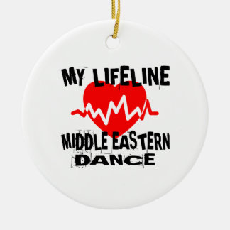 MY LIFE LINA MIDDLE EASTERN DESIGNS CERAMIC ORNAMENT