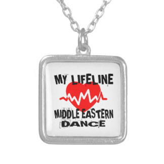 MY LIFE LINA MIDDLE EASTERN DESIGNS SILVER PLATED NECKLACE