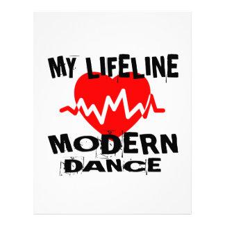 MY LIFE LINA MODERN DANCE DESIGNS LETTERHEAD