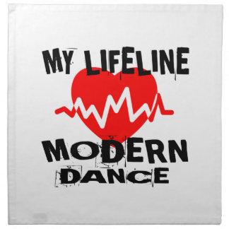 MY LIFE LINA MODERN DANCE DESIGNS NAPKIN