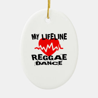 MY LIFE LINA REGGAE DANCE DESIGNS CERAMIC ORNAMENT