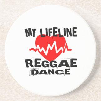 MY LIFE LINA REGGAE DANCE DESIGNS COASTER