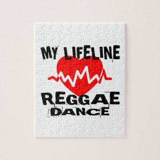 MY LIFE LINA REGGAE DANCE DESIGNS JIGSAW PUZZLE