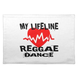 MY LIFE LINA REGGAE DANCE DESIGNS PLACEMAT