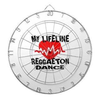 MY LIFE LINA REGGAETON DANCE DESIGNS DARTBOARD