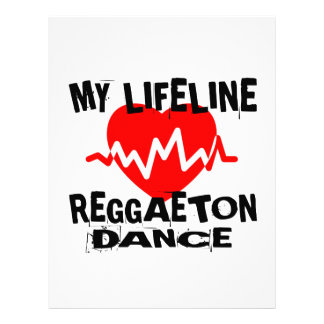 MY LIFE LINA REGGAETON DANCE DESIGNS LETTERHEAD
