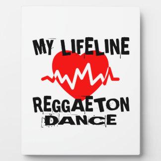 MY LIFE LINA REGGAETON DANCE DESIGNS PLAQUE