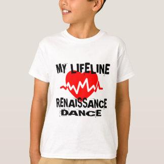 MY LIFE LINA RENAISSANCE DANCE DESIGNS T-Shirt