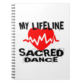 MY LIFE LINA SACRED DANCE DESIGNS NOTEBOOK