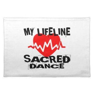MY LIFE LINA SACRED DANCE DESIGNS PLACEMAT
