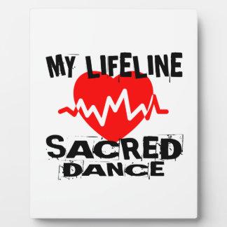 MY LIFE LINA SACRED DANCE DESIGNS PLAQUE