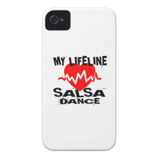 MY LIFE LINA SALSA DANCE DESIGNS iPhone 4 Case-Mate CASE