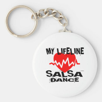MY LIFE LINA SALSA DANCE DESIGNS KEYCHAIN