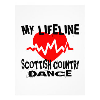MY LIFE LINA SCOTTISH COUNTRY DANCING DANCE DESIGN LETTERHEAD