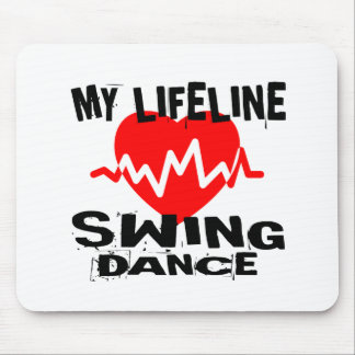 MY LIFE LINA SWING DANCE DESIGNS MOUSE PAD