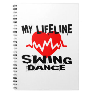 MY LIFE LINA SWING DANCE DESIGNS NOTEBOOK