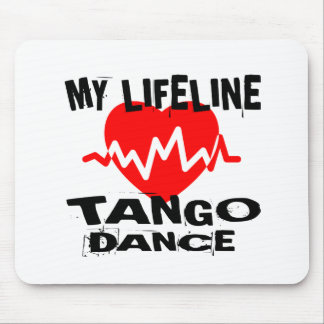 MY LIFE LINA TANGO DANCE DESIGNS MOUSE PAD