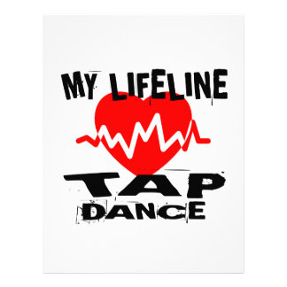 MY LIFE LINA TAP DANCE DESIGNS LETTERHEAD