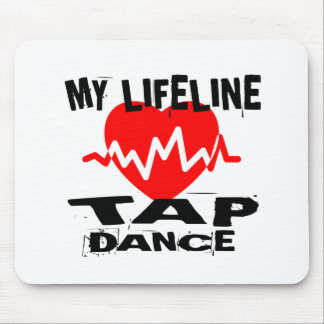MY LIFE LINA TAP DANCE DESIGNS MOUSE PAD