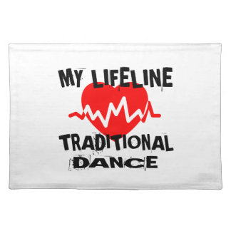 MY LIFE LINA TRADITIONAL DANCE DESIGNS PLACEMAT