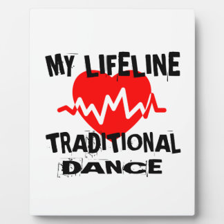 MY LIFE LINA TRADITIONAL DANCE DESIGNS PLAQUE