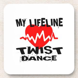 MY LIFE LINA TWISTDANCE DESIGNS COASTER