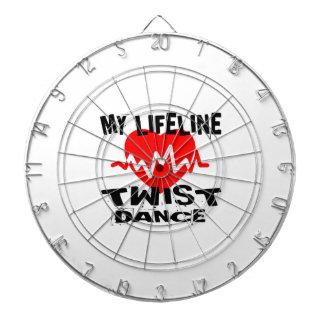 MY LIFE LINA TWISTDANCE DESIGNS DARTBOARD