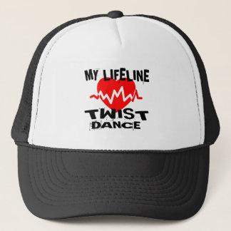 MY LIFE LINA TWISTDANCE DESIGNS TRUCKER HAT