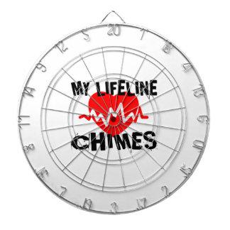 MY LIFE LINE CHIMES MUSIC DESIGNS DARTBOARD