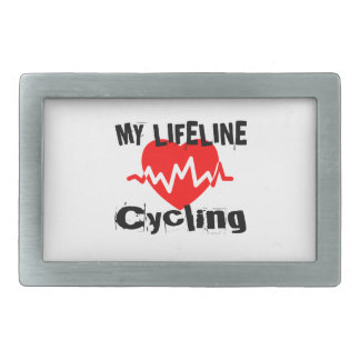 My Life Line Cycling Sports Designs Belt Buckle